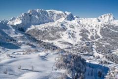 Skifahren am Nassfeld 2014-02-23