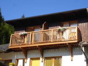 Balkon Edelweiss