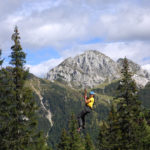 Flying Fox und Kletterpark am Nassfeld Kärnten Österreich