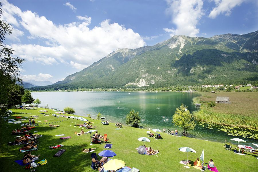 lake Pressegger See in Carinthia