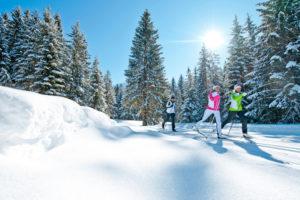 Langlaufen in der Region Nassfeld-Hermagor-Weißbriach