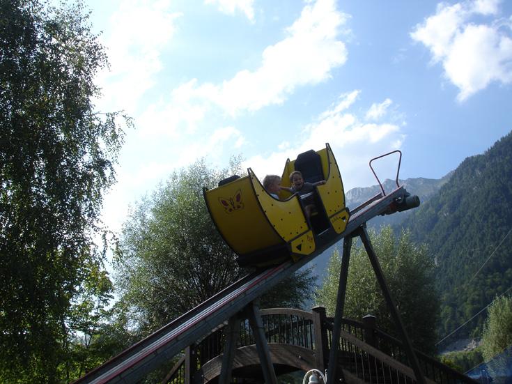 Looping im Erlebnispark Presseggersee Kärnten