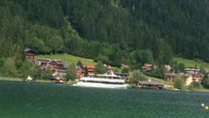 Schifffahrt am Weissensee Kaernten