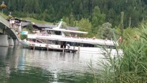 Schiff Alpenperle am Weissensee Kaernten