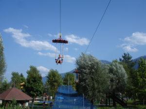 Sessellift im Erlebnispark Pressegger See in Kärnten