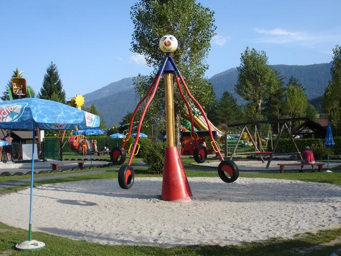 Spielplatz Erlebnispark Presseggersee Kärnten