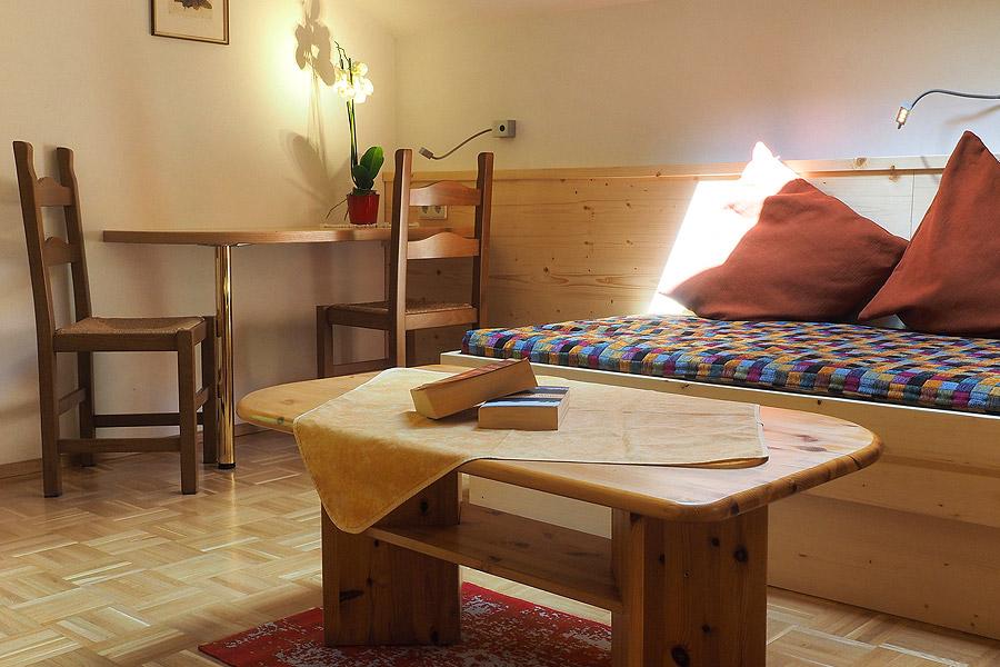 Wohnzimmer Edelweiss Ferienhaus Waldhof Kaernten