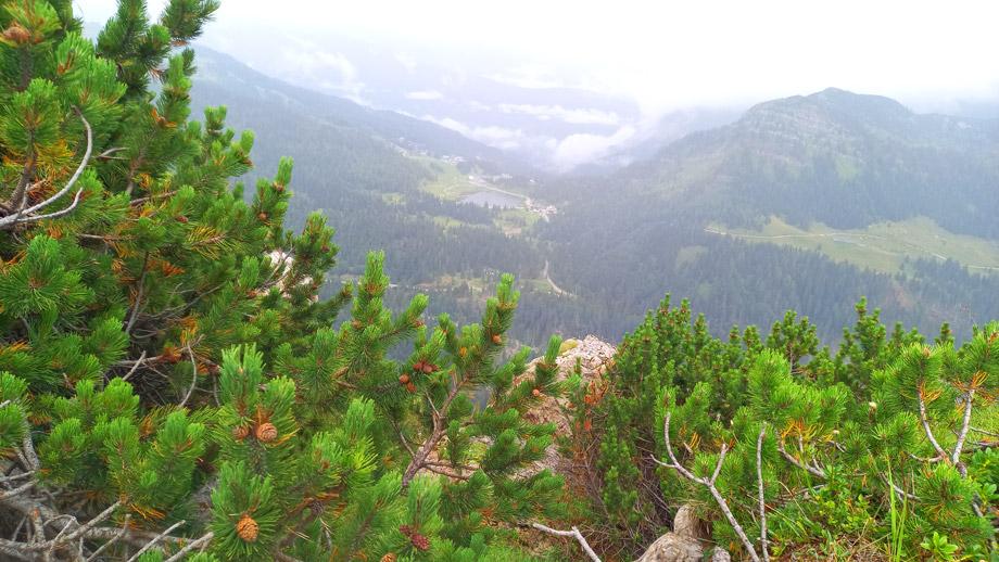 Aussicht vom Malurch auf das Nassfeld