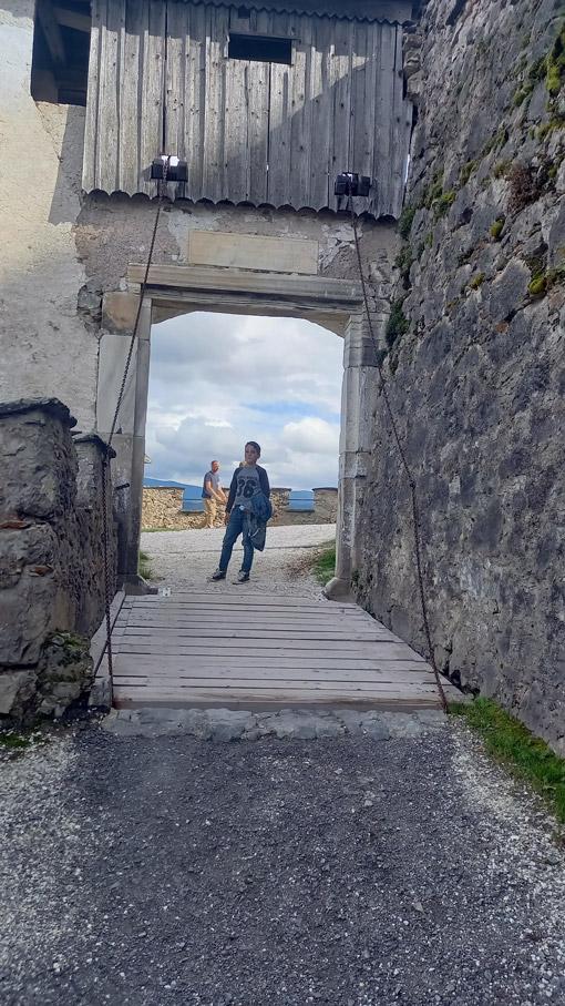 Zugbrücke auf der Burg Hochosterwitz