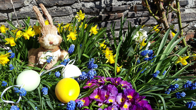 happy easter at the Waldhof